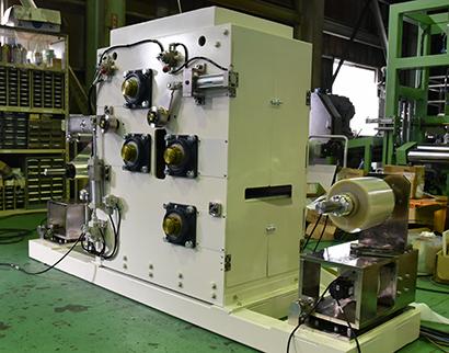 ロール型遠赤外線フィルムアニール機 Roll to Roll IR Film Straightening Machine