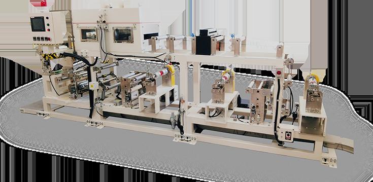 マルチコーター&ナイフコーター+遠赤外線乾燥ライン Multi Coater & Knife Coater + IR Oven Line