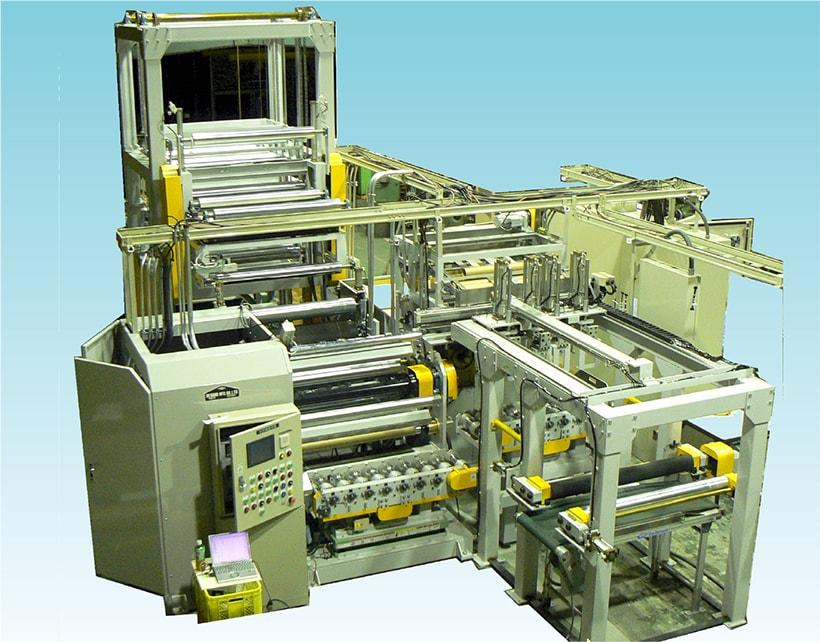コアレス2軸ターレット自動巻取機